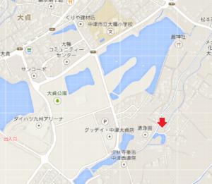 大貞分譲地地図